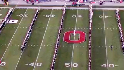 ohio state university performs their hollywood blockbuster show